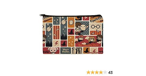 Harry Potter - Bolsa organizadora de maquillaje con diseño de chibi
