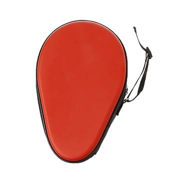 Manyo Butterfly Ping Pong - Funda para Pala de Tenis de Mesa de 2 cavidades, Color Rojo, tamaño Talla única: Amazon.es: Deportes y aire libre