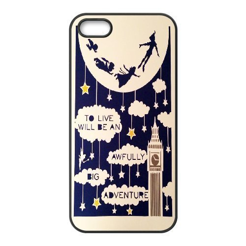 Phone case - Never Grow Up - Peter Pan Pattern Protective they Case For Iphone 5 5S the Cases Style-13 by TOOT0 Case - Disney Cell Phone Cases