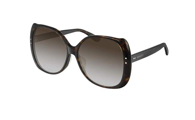super popular ed887 4bb7d Gucci GG0472SA 002 OVERSIZE DONNA NUOVA COLLEZIONE SFILATA ...