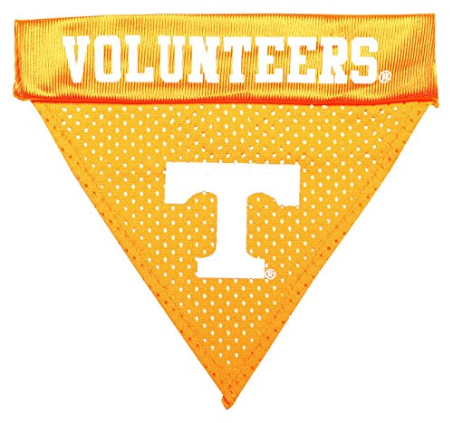 Tennessee Dog Bandana - Pet Goods NCAA Tennessee Volunteers Collar Bandana, One Size