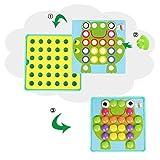 NextX Button Art Preschool Learning Toys Color