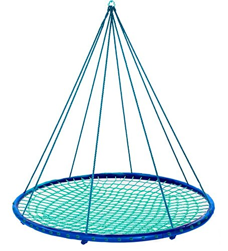 Sky Island Giant Outdoor Hanging Round Platform Swing