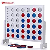 Fitnessclub Giant 4 in A Row Game Set 3ft Width with Carry Case