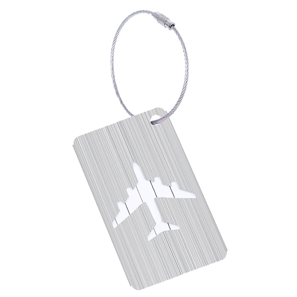 Infgreate Make Your Trip More Exciting Creative Plane Travel Luggage Tag Suitcase ID Address Baggage Boarding Label