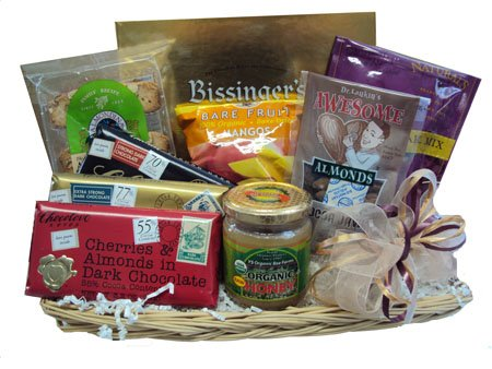 Rosh Hashanah Healthy Gift Basket by Well Baskets by Well Baskets