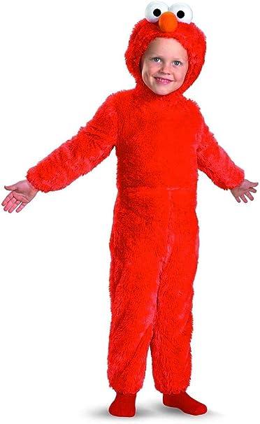 Amazon.com: Disfraz infantil de Elmo, Un solo color: Toys ...