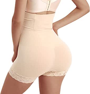 Women's High-Waist Tummy Control Shaper Panties Butt Lifter Shorts Brilliance Slim Waist Trainer