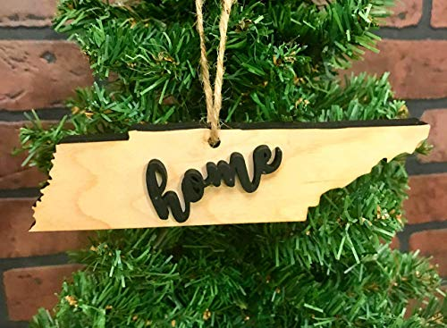 - Tennessee State Christmas Tree Ornament Keepsake Decoration Holiday Gift Home Ornie Party Favor