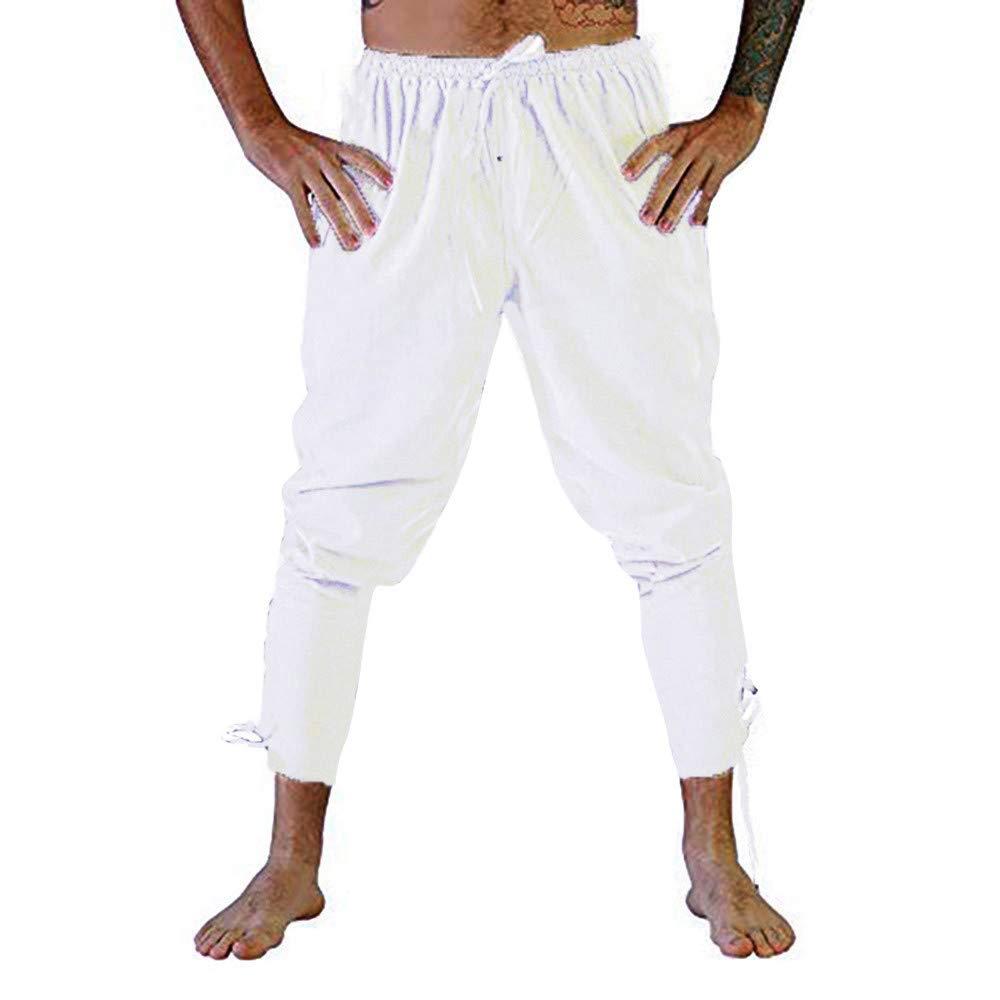 SOLELING Pantaloni Sportivi da Uomo Pantaloni da Allenamento Fitness Sport Tinta Unita Pantaloni da Allenamento per Pantaloni Casual con Coulisse e Coulisse