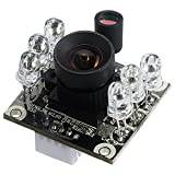 Spinel 2MP full HD USB Camera Module Infrared OV2710 with Non-distortion Lens FOV 100 degree, Support 1920x1080@30fps, UVC Compliant, Support most OS, Focus Adjustable, UC20MPD_ND