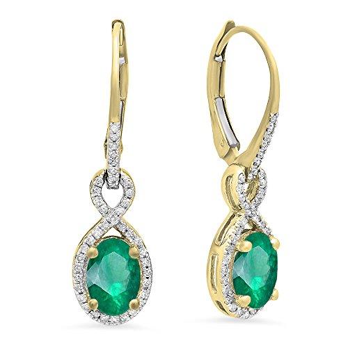 Kooljewelry Sterling Silver Cubic Zirconia Circle Pendant Necklace 18 inch