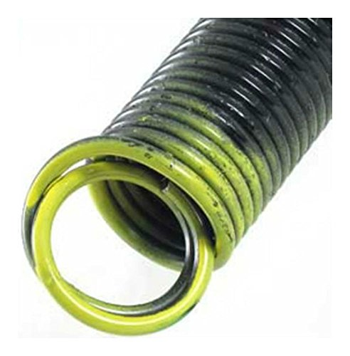 Garage Door Extension Springs - Stretch Springs - PAIR - for 7' high door - NEW! (130 # Yellow)