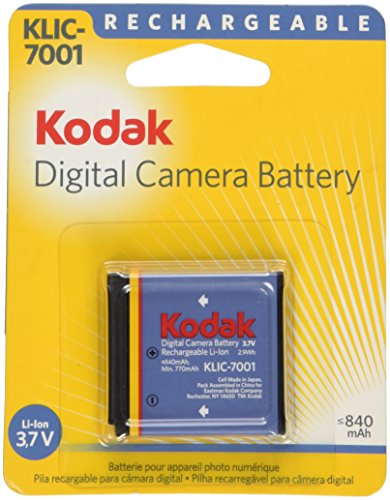 Kodak Li-Ion Rechargeable Battery/KLIC 7001 (Battery Rechargeable Digital Camera)