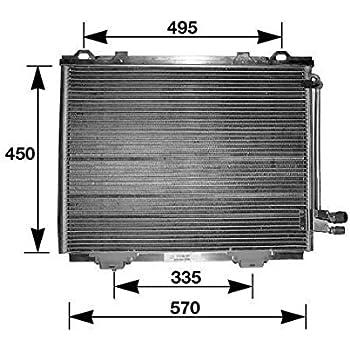 HELLA 351036381 Air Conditioning Condenser