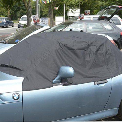 UK Custom Covers RP100 Tailored Soft Top Roof Protector - Black
