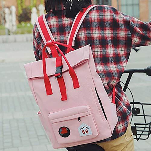 à Nouveau Sport de Sacs Femme Pink Voyage Dos Le Loisirs Sac Campus Couleur d'étudiant Sac Dos Couleur gj Le de Sac à Dos Jaune Pure à Sac WAXavcRq