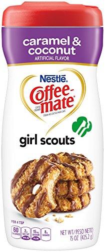 Coffee Mate Coffee Caramel Coconut Ounce