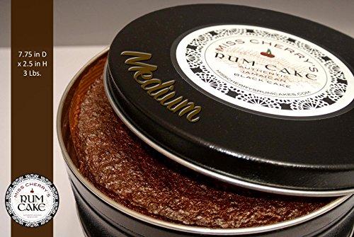 Overproof Rum - Jamaican Cherry Rum Cake (Medium 7.25Dx2.25H)