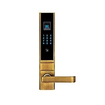 Lxj Huella Digital Cerradura Huella Digital Inteligente Cerradura Seguridad Puerta Huella Digital Inteligente contraseña Bloqueo aplicación