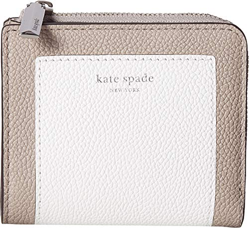 - Kate Spade New York Women's Margaux Small Bifold Wallet, Optic White Multi, One Size