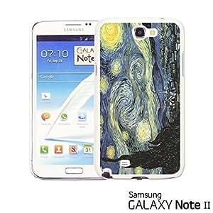 OnlineBestDigital? - Art Paintings Hardback Case for Samsung Galaxy Note 2 - Van Gogh Starry Night