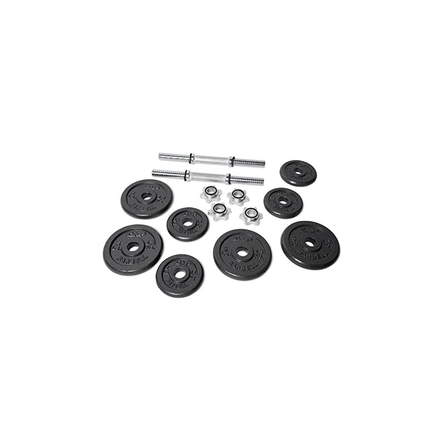 CAP Barbell RSWB 40TP 40 lb. Dumbbell Set
