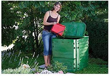 Compostador thermo-king Graf 400 l: Amazon.es: Jardín
