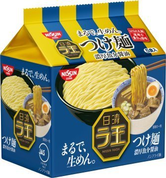 NichiShinrao noodle rich seafood soy sauce 1 case (30 meals) (5P input X6 bags) by La King