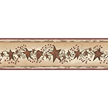 York Wallcoverings BS5327BD Room to Grow Teddy Bear Border, Tan, Beige, White, Black, Browns, Grey, Red, Yellow, Blue