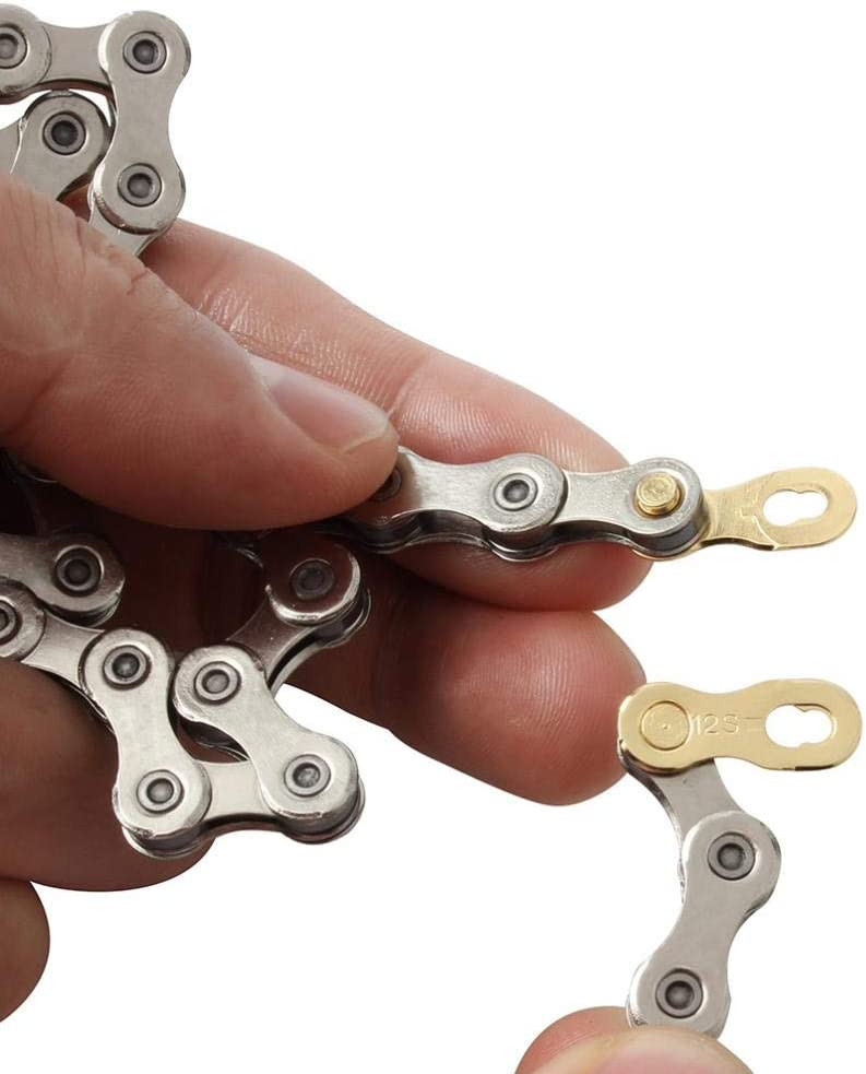 CUTICATE 12 Speed Bike Chain Quick-Link Connector Replacement for Bicycle Cycling Accessories