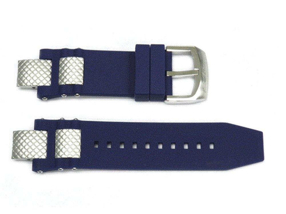 Genuine Invicta Blue Rubber Watch Strap For Subaqua models 5512