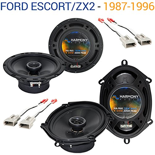 Fits Ford Escort/ZX2 1997-2004 Factory Speaker Upgrade Harmony R65 R68 Package New