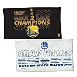 WinCraft Golden State Warriors 2018 Back to Back NBA Champions Locker Room Towel