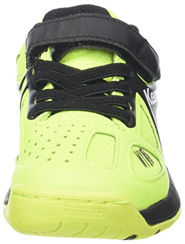 fluo Gelb Junior Chaussures Kempa schwarz Wing Caution Multicolore Garçon anthra Handball De zw88pq