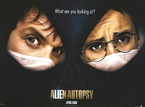 Alien Autopsy - Authentic Original 40