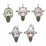 Witch Craft Works KMM Orchestra witch hunt Rubber Key Chain set bondage ver.