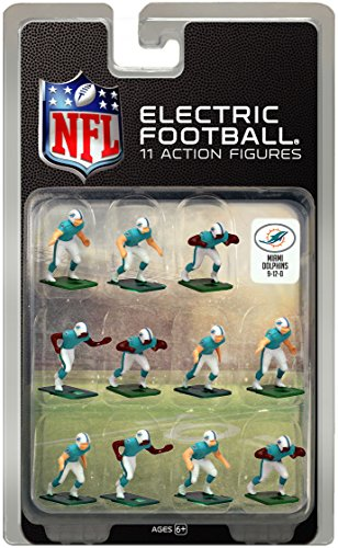 Miami Dolphins Dark Uniform NFL Action Figure Set