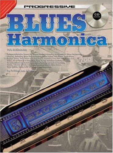 Harmonica Progressive (BLUES HARMONICA FOR BEGINNERS (Progressive))
