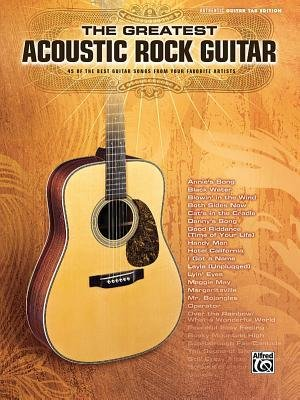 Download [(The Greatest Acoustic Rock Guitar: 45 of the Best Guitar Songs from Your Favorite Artists)] [Author: Alfred Publishing] published on (January, 2010) pdf