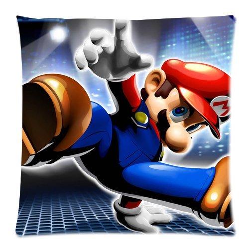 Super Mario Bros pillow Case Home Decor Custom de la funda ...