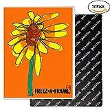 work fridge - 12 Pack 8.5 X 11 Magnetic Picture Frame Use for 8 X 10 Photo, Children's Artwork Frame, Magnetic Calendar Plastic Refrigerator Insert Holder Sleeve Pocket by Freez-a-Frame Made in the USA