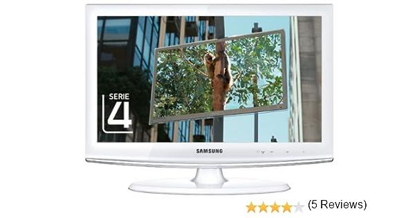 Samsung LE19C451 48- Televisión HD, Pantalla LCD 19 pulgadas- Blanco: Amazon.es: Electrónica
