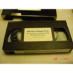 VHS TAPE Video of The JOHN DEERE DUBUQUE WORKS 50t