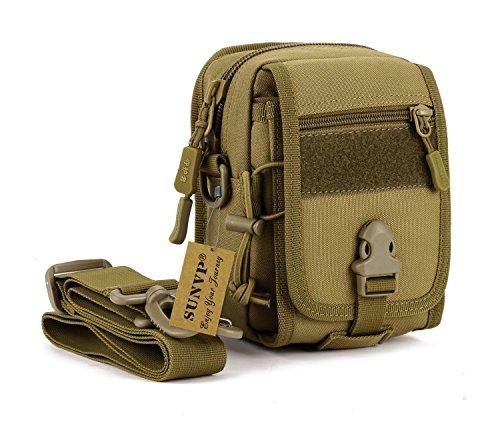 Outer Bag Dump (Protector Plus Military Tactical MOLLE Phone Pouch Waist Belt Bag Pack Gear Messenger Shoulder Saddlebag)
