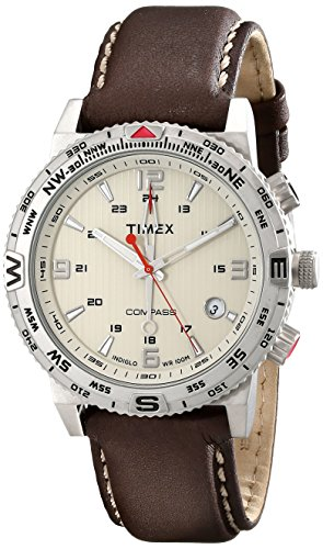 Timex Intelligent Adventure Stainless Leather product image