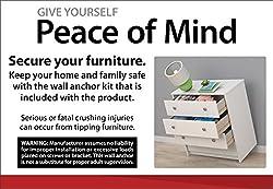 Ameriwood Home Carver 64 Storage Cabinet by Ameriwood Industries Inc