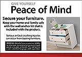 Ameriwood Home Skyler 3 Drawer Dresser with