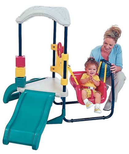 Amazon Com My First Swing Set Toys Games