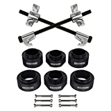 """Supreme Suspensions - 2"""" Front + 2"""" Rear Lift Kit with Strut Coil Spring Compressor Tool for 1989 - 1998 Suzuki Sidekick and Geo Tracker"""
